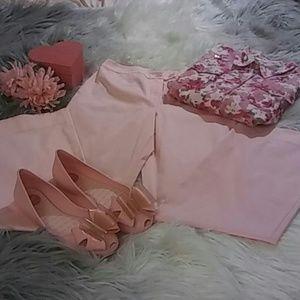 Sale! BOGO 50% OFF! Ann Taylor Loft Pink Slacks